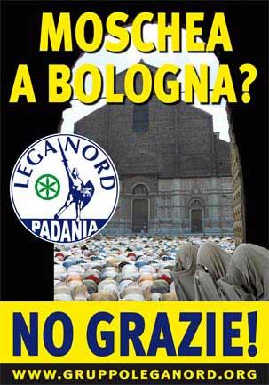 Attentato incendiario contro la moschea diBologna