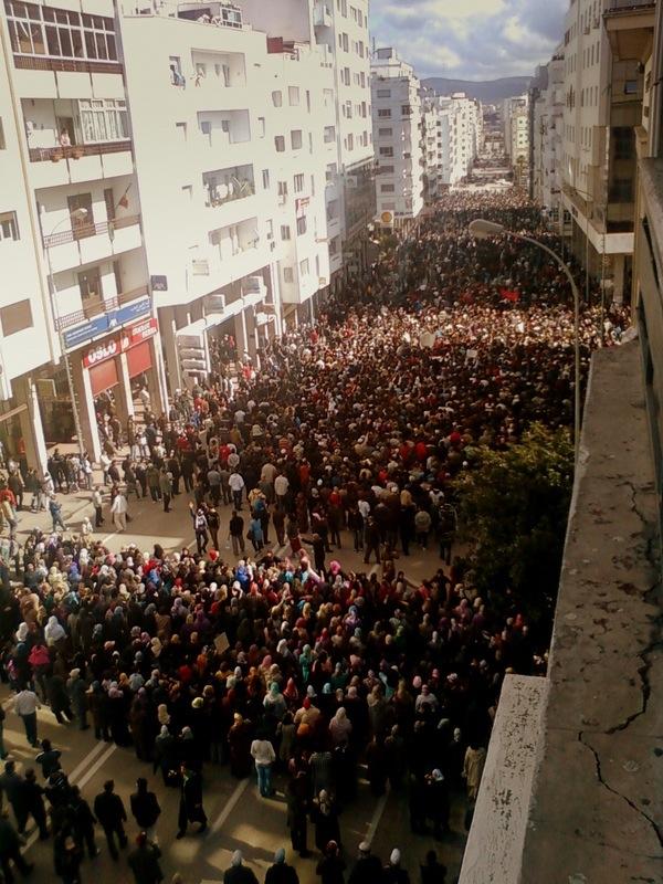 """Il """"Marocco del 20 febbraio"""": una cronaca sconosciuta"""