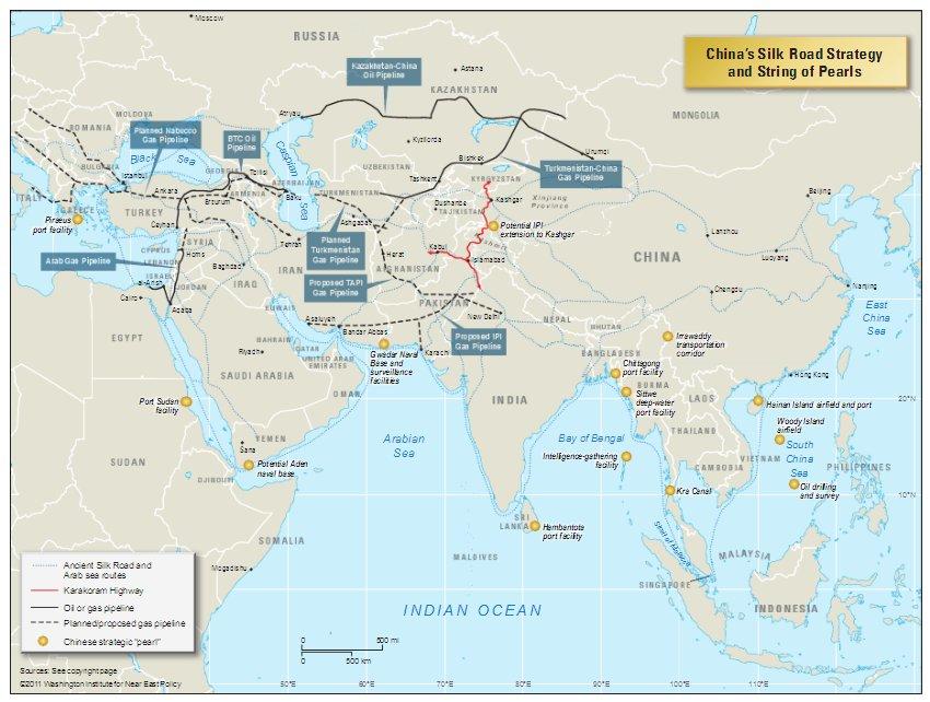 """Il gas iraniano nel Mediterraneo, l'""""asse del male"""" e la Cina"""