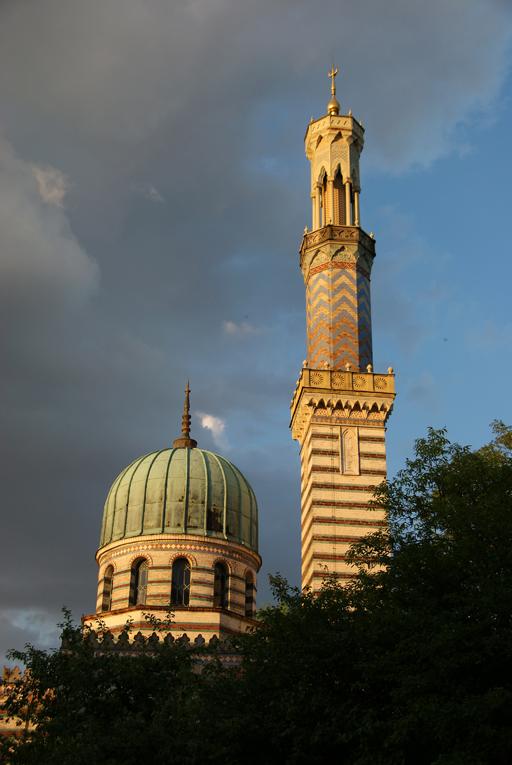 L'antica moschea di Potsdam